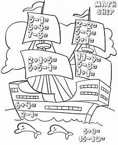 kindergarten math worksheets best coloring pages for kids