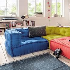 sofa für kinderzimmer kindersofa cushion sofa eck element l 65x65cm