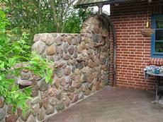 Mauer Aus Feldsteinen Mischungsverh 228 Ltnis Zement
