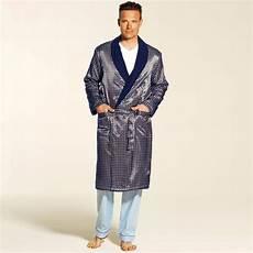 robe de chambre homme satin pyjama vetement homme blancheporte