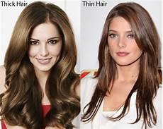 Thick Vs Thin Hair thick hair vs thin hair ilookwar