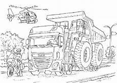 Ausmalbilder Lkw Daf Vrachtwagen Daf Xf Kleurplaat Daf Daf Kleurplatenl