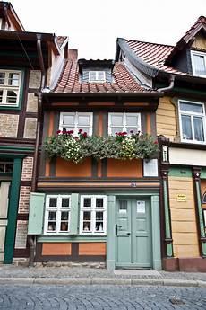 Kleinstes Haus Wernigerode Foto Bild Deutschland