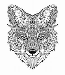 Coole Ausmalbilder Tiere Fox Mandala Diego Ayerbe Mandalas Painting Mandalas