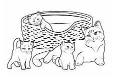 Malvorlagen Katzenbabys Kostenlos Katzenmama Mit Katzenkinder Mit Bildern Katze Zum