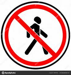 interdiction de circuler panneau d interdiction 171 la circulation des pi 233 tons