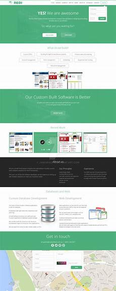 web design redi software solutions by jawaracing on deviantart