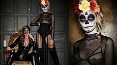 Easy Mexican Sugar Skull Day Of The Dead Makeup Tutorial