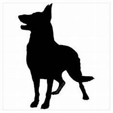 Free Business Cards Templates German Shepherd Silhouette German Shepherd Pattern Use The Printable Outline For