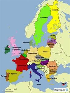 Stepmap Eu Staaten Landkarte F 252 R Deutschland