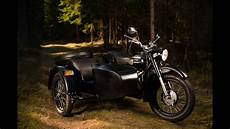 trip with an ural motorcycle with sidecar