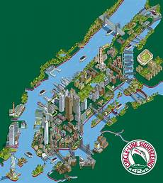 new york illustration 101 new york sights tourist attr