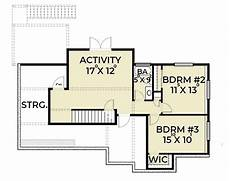 open floor house plans with walkout basement 3 bedroom craftsman house plan with den and walkout