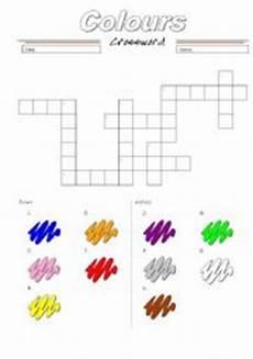 colors crossword worksheets 12726 the colors crossword esl worksheet by jhon ch