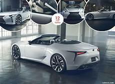 2019 lexus lc convertible concept caricos