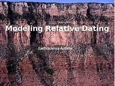 earth science relative dating worksheet 13274 earth science activity modeling relative dating earth science activities earth science earth