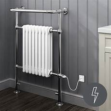 Bathroom Towel Rails by 659 X 952 White Heated Towel Rail Traditional Bathroom