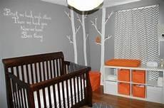 chambre de b 233 b 233 gris orange 171 ronde et