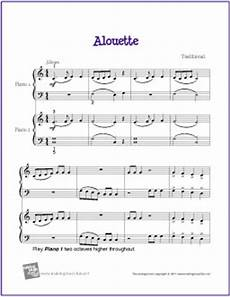 free sheet music duets for the beginning piano student
