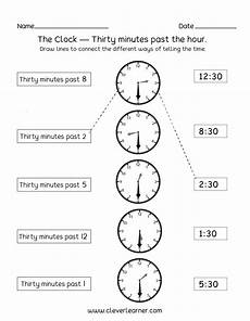 half past time worksheets for grade 1 3568 telling time half past the hour worksheets for 1st and 2nd graders
