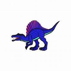 Malvorlagen Dinosaurier Spinosaurus Stickdatei Dinosaurier Spinosaurus