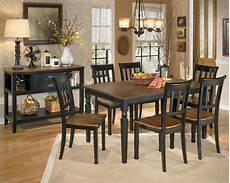 owingsville rectangular dining room from d580