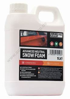 valetpro snow foam valetpro advanced snow foam ph neutral 1liter