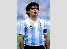 diego maradona position