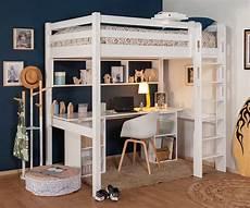 Lit Mezzanine 2 Places Enfant Cancun Gain De Place Made