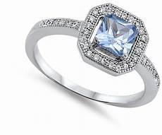 wedding halo ring new 925 sterling silver wedding