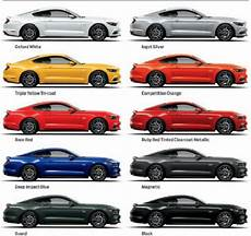 2016 ford mustang colors ford mustang pinterest