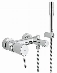 grohe concetto single lever bath shower mixer tap 32212001