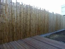 palissades en bambou brise vue en bambous g 233 ants 100cm x 200cm outdoors