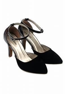 jual sepatu murah dan berkualitas claymore sepatu high heels bb 703k black