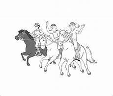 Ausmalbilder Bibi Und Tina Pferde Bibi Und Tina Malbuch 1ausmalbilder