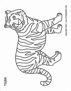 Tiger Mask Free Printable Templates Coloring Pages