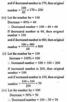 decimals worksheets for grade 6 cbse 7036 selina concise mathematics class 7 icse solutions chapter 8 percent and percentage cbse tuts