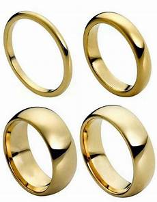 tungsten carbide 18k gold dome wedding engagement band promise ring mens classic ebay