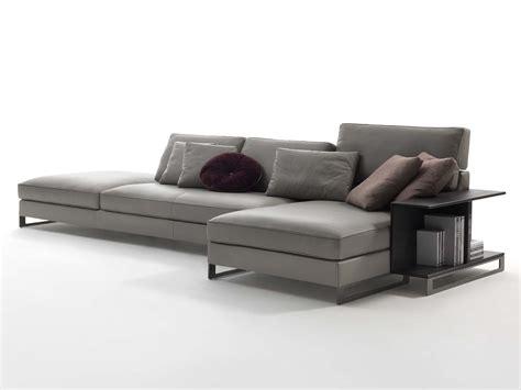 Davis Book Leather Sofa By Frigerio Poltrone E Divani