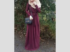 Hijab fashion love this color   Model pakaian muslim