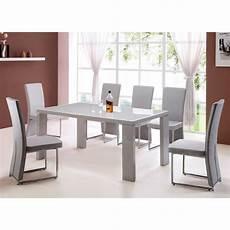 Esstisch Hochglanz Grau - high gloss grey dining table only 15659 furniture