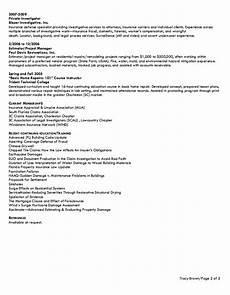 insurance adjuster resume exle education resume