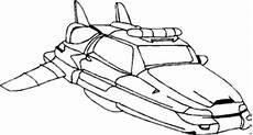 raumschiff vorne ausmalbild malvorlage science fiction