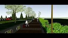 Desain Taman Jalan Raya Gambar Desain Rumah Minimalis