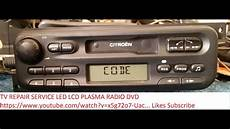 Citroen Philips 22rc465 36 Radio Code Unlock