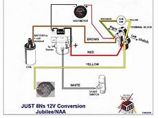 Wiring Diagram For 12 Volt Conversion Of Alternator On Ferguson To 30 by Help With A Jmor Wiring Diagram For A Jubilee Ford 9n