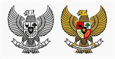 Garuda Pancasila Vector Corel Draw Seni