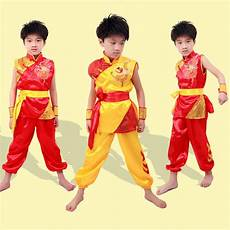 wholesale chinese traditional wushu costume martial arts uniform kung fu suit for kids child