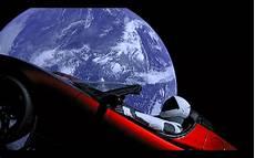 tesla dans l espace vous pouvez regarder en direct le mannequin de spacex au