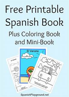 printable spanish book for beginners spanish playground